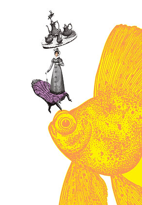 No. 145 | A Large & Curious Goldfish