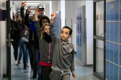 Pina Bausch Gesamtschule tanzt The NELKEN-LINE 03, Foto Sala Seddiki, Copyright Pina Bausch Foundati