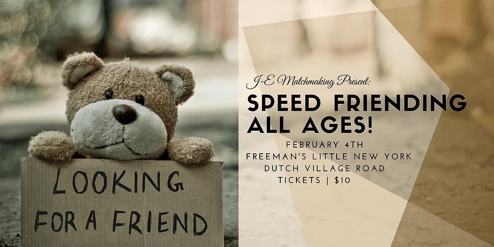 Speed Friending!