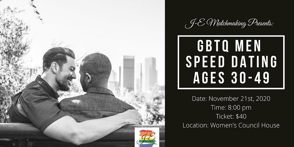 GBTQ Men Speed Dating - Ages 30-49