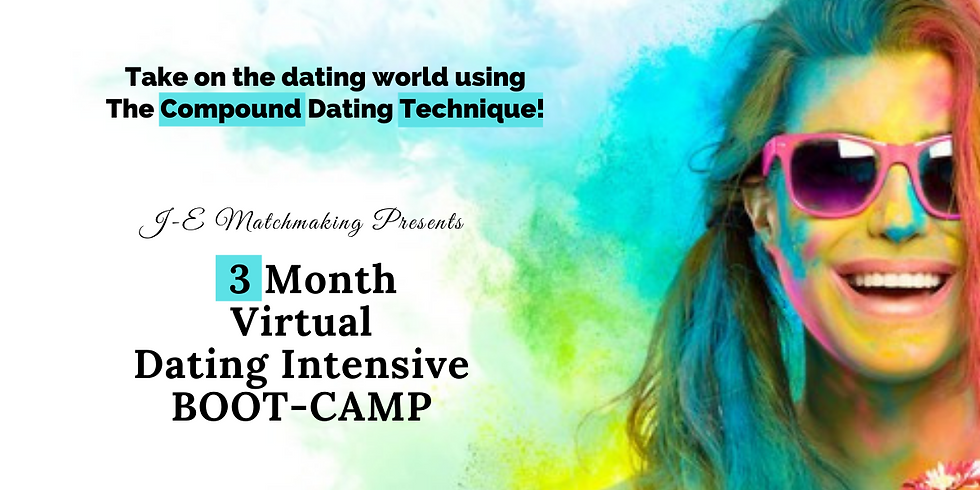 3 Month Virtual Dating Intensive Boot-Camp!