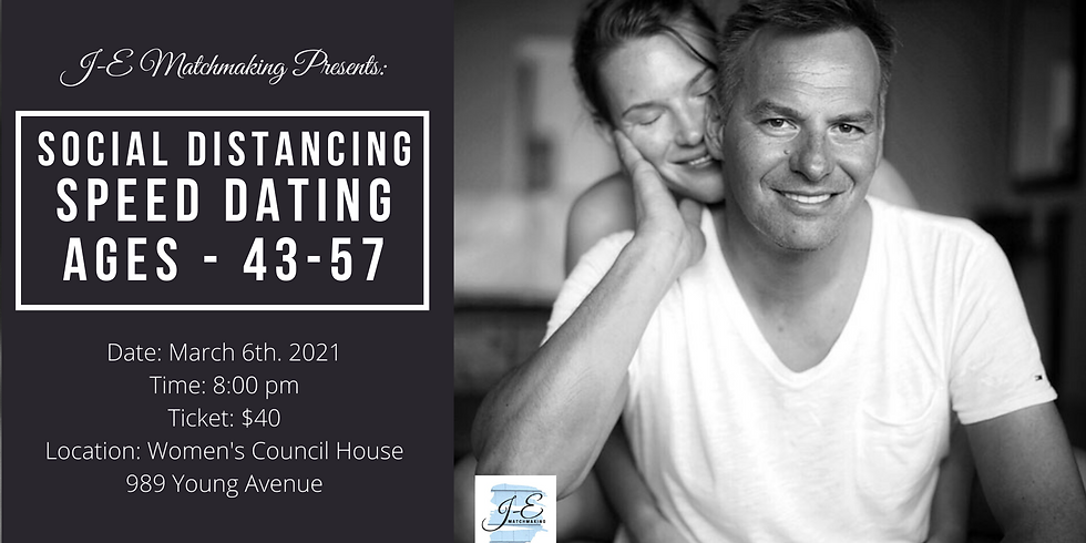 Social Distance Speed Dating - Ages 43-57