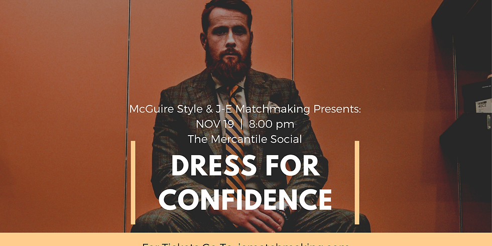 McGuire Style Dress For Confidence Workshop