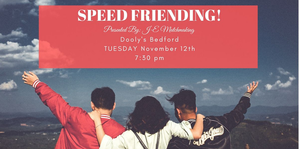 Speed Friending - Ages 28-48