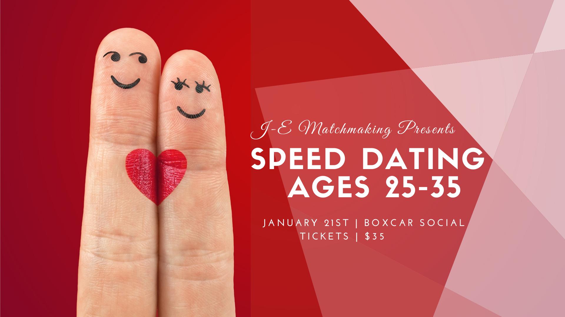 vad som händer under Speed Dating