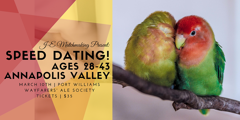 Speed Dating - Annapolis Valley!
