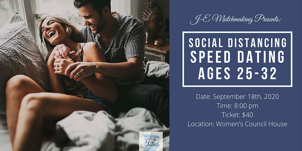 Social Distancing Speed Dating - Ages 25-32