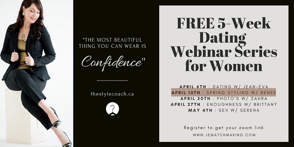 FREE 5-Week Dating Webinar Series for Women