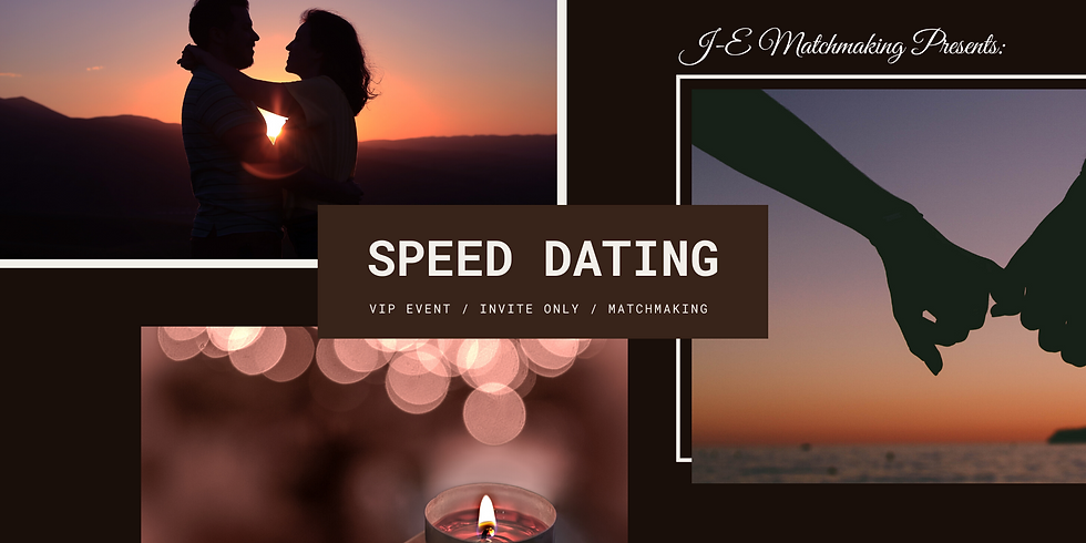Private Speed Dating Event