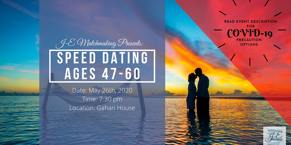 Speed Dating Ages 47-60