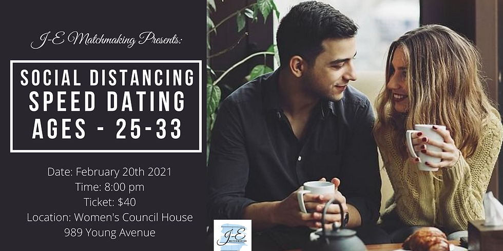 Social Distance Speed Dating - Ages 25-33