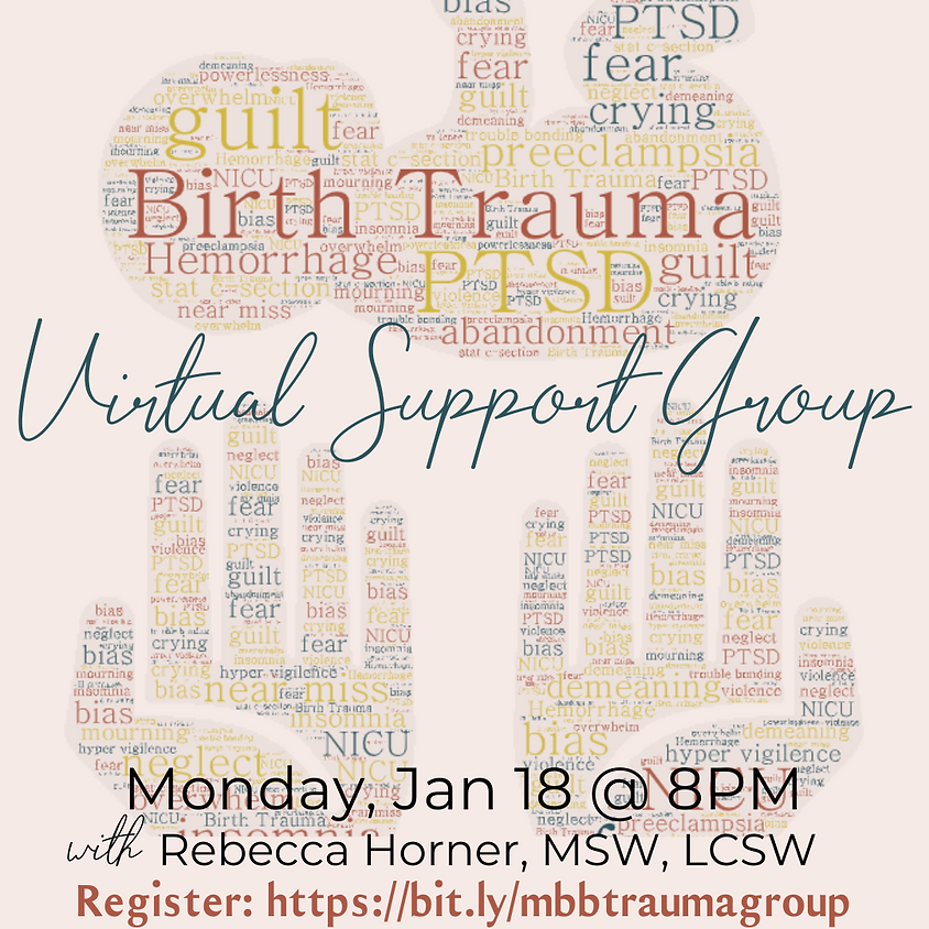 Birth Trauma Support Group