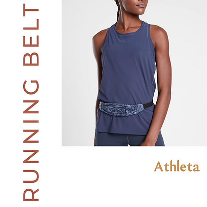 Sleek Running Belt