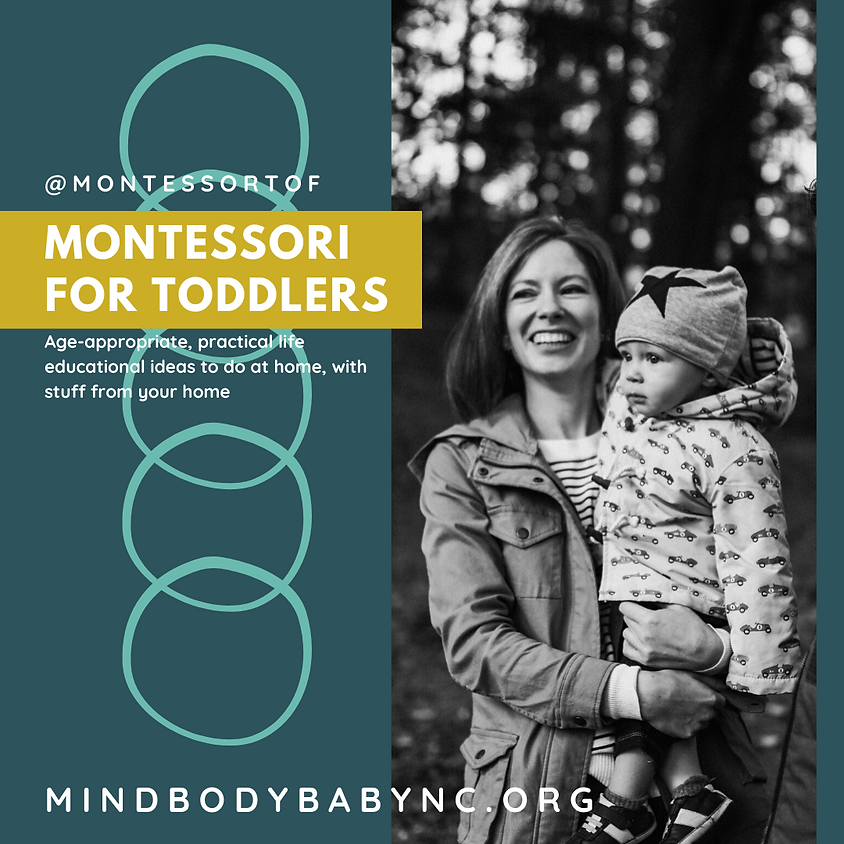 Montessori for Toddlers at Home