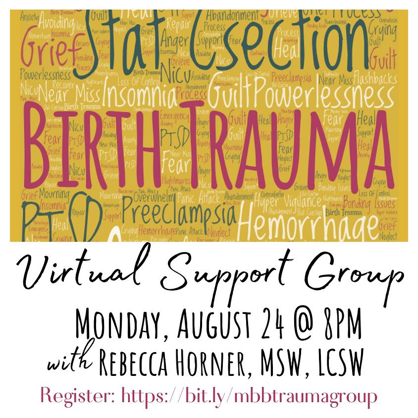 Birth Trauma Support Group