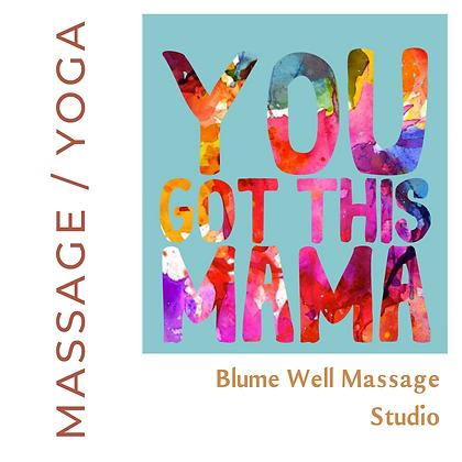Blume Well Massage Studio - Massage or Yoga
