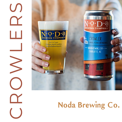 2 Crowlers from Noda Brewing