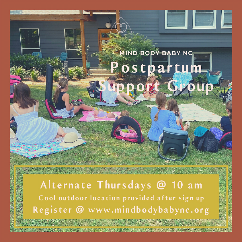 Postpartum Support Group - In Person