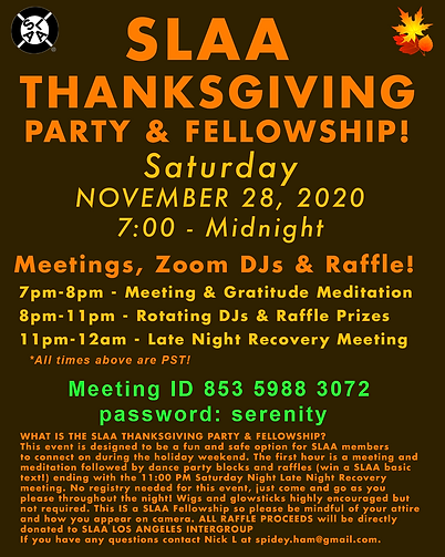 SLAA Thanksgiving Party Flyer.png