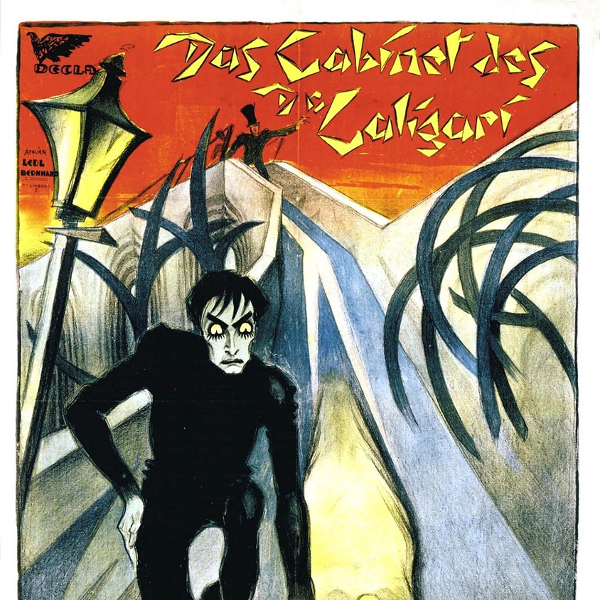 The Cabinet of Dr. Caligari with Live Score by David DiDonato