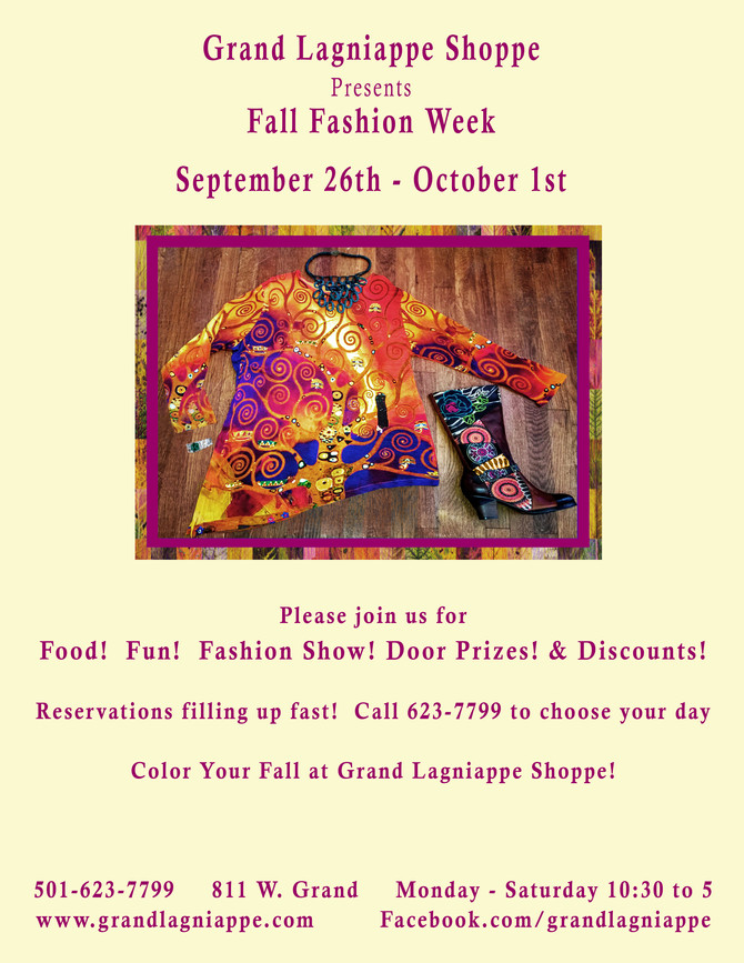 Color Your Fall at Lagniappe