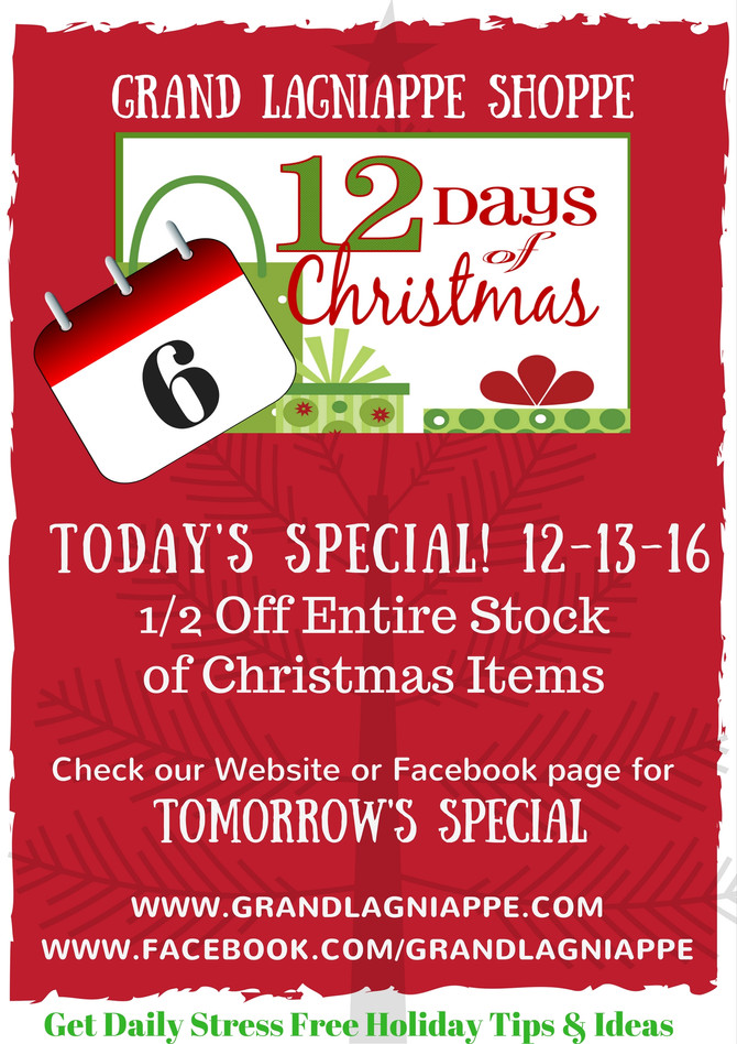 12 Days of Christmas Specials, Day 6