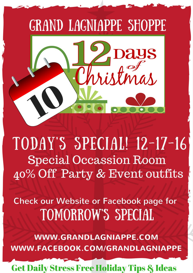 12 Days of Christmas Specials, Day 10