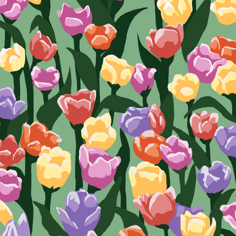 Pattern: Tulips