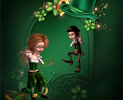 image of two irish musicians