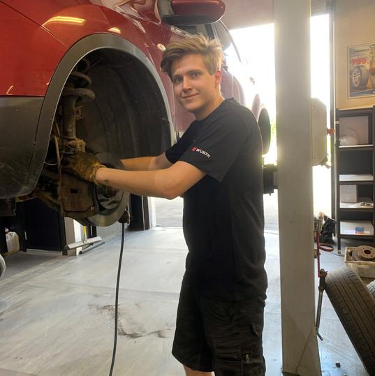 Tobias - Mekaniker