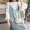 Thumbnail: 两件套头吊带连衣裙针织裙女喇叭长袖背心毛衣裙子