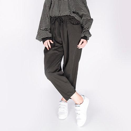 Black Korean Harem Pants