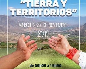 """""""Tierra y Territorios"""" se debatieron en Ibarra"""