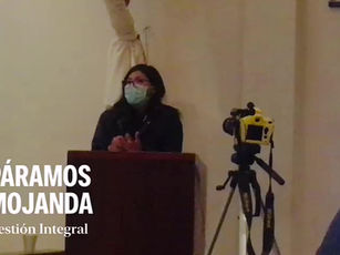 Acciones de protección de la zona de influencia hídrica de Mojanda