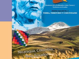 Boletín Especial No. 4 Tierra, Territorio y Comunidades