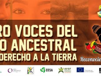 Jóvenes y adultos mayores rurales por el derecho a la tierra