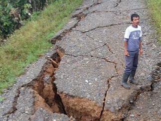Efectos del Terremoto en los campesinos