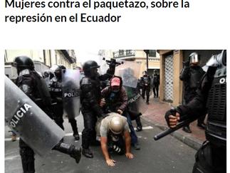 """Nos adherimos al comunicado: """"Mujeres contra el paquetazo..."""""""