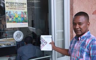 Asociación Afrodescendiente se inscribe en consulta prelegislativa de Ley de Tierras