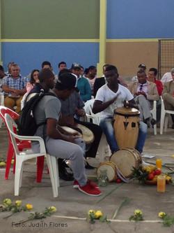 Ritual con tambores