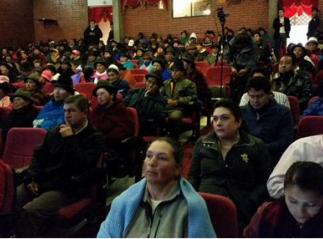 CAMPESINOS ALIMENTAN CONSTRUCCIÓN DEL PROYECTO DE LEY DE TIERRAS