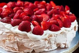 Pavlova aux fraises lambada