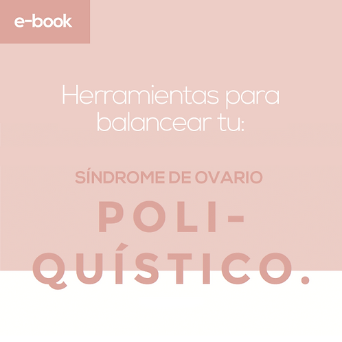 Ebook Síndrome de Ovario Poliquístico