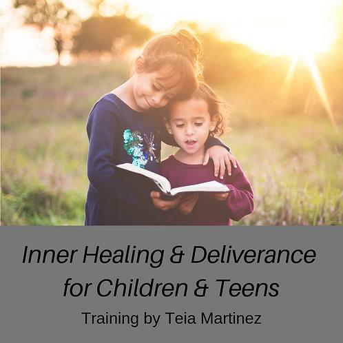 Inner Healing & Deliverance for Children Training - MP3 Download