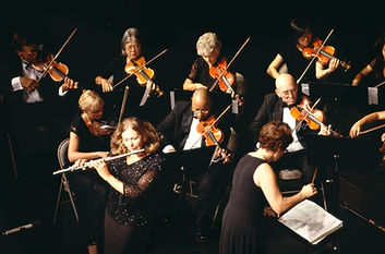 Ochestra in Aktion