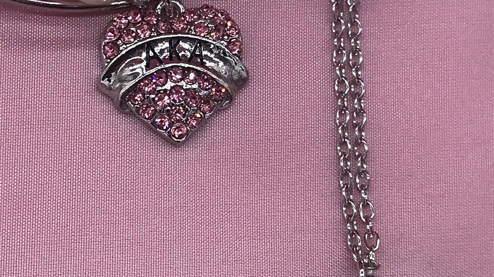 AKA Bracelet Necklace Set