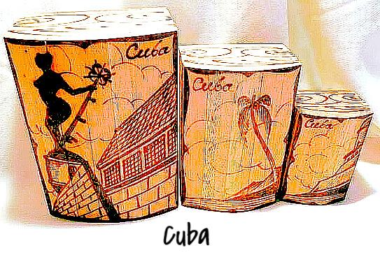 Сувениры с Кубы