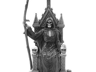Скоро в блоге - Санта Муэрте культ смерти!