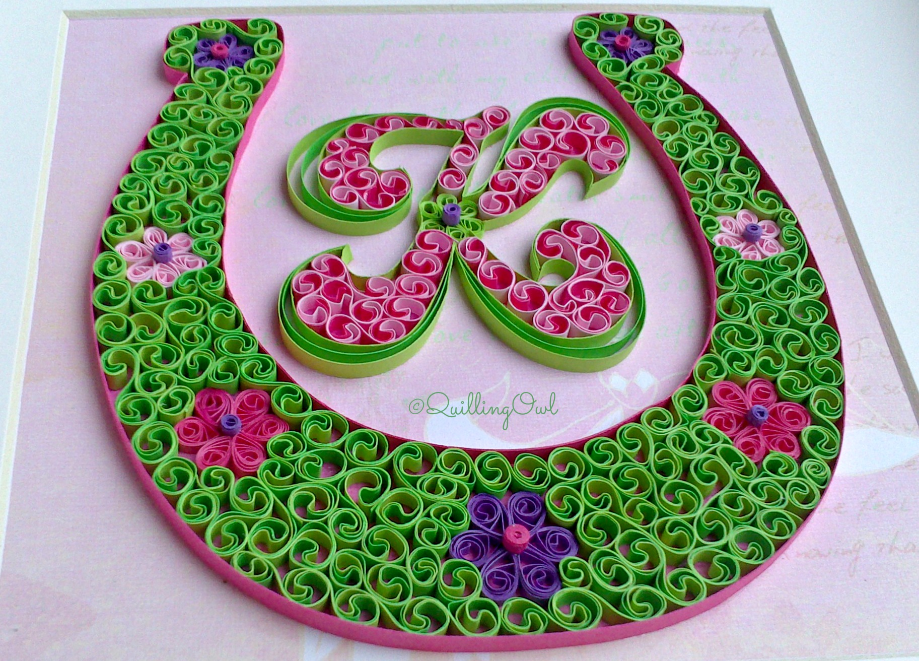 LucKy Charm, paper quilling