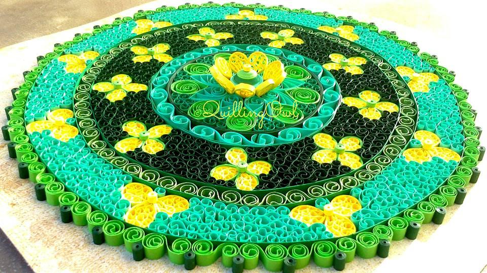 Celtic Mandala , paper quilling